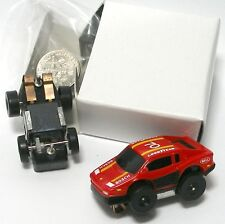 1990 Galoob Micro Machines 1/87th Ferrari F-50 in RED Slot Car NOS MIB