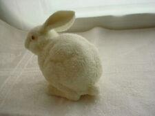 Vtg Dept 56 Easter Bunny Figurine 1997 Textured