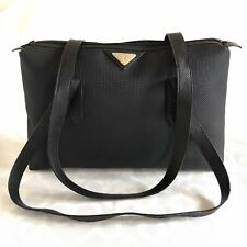 Ysl Yves Saint Laurent Vintage Large Black Bag, Shoulder Bag, Tote Bag