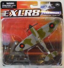 WW II Supermarine Spitfire Mk.Vb Die-cast Model Plane by Maisto w/Display Stand