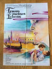 Traum meines Lebens (Plakat ´62) - Katharine Hepburn / Rossano Brazzi / Venedig