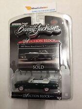 Greenlight Auction Block * 1967 Dodge HEMI Coronet R/T Convertible * GREEN N132