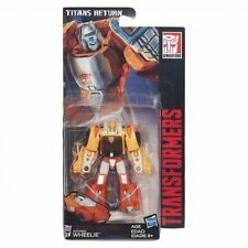 Transformers Generations Titans Return Legends Wheelie - Instock dented bubble