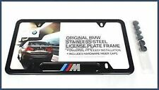 Genuine BMW BMW M Logo License Plate Frame 82-12-0-010-404