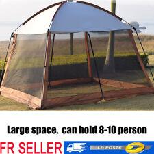 Big 10 personne cabine tente avec grande Sun Canopy Windows Extérieur Camping