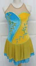 KIM Competition Ice Skating Dress Dance Adult Small