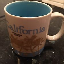 STARBUCKS ORIGINAL CALIFORNIA GLOBAL ICON  MUG 16OZ NEW!  RARE!