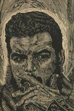 Leopoldo Morales Praxedis Linocut Print Ernesto Che Guevara Cuban Revolution