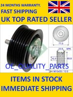 Belt Tensioner Pulley Polly V-ribbed Multi AUX 532 0700 10 LUK INA FAG