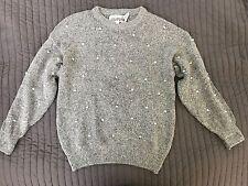 The Import Workshop Grey Sweater Silk Nylon Angora Rabbit Hair Korea Size Small
