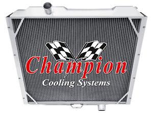 3 Row Racing Champion Radiator for 1992 - 2001 AM General Hummer V8 Engine