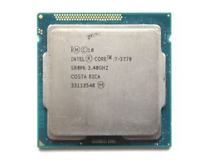 i7-3770 - INTEL CORE | SR0PK | 3.40GHz | 8MB | 4Core | LGA1155