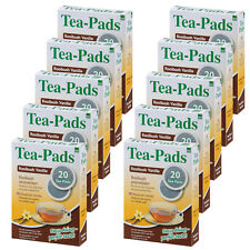 200 Tee Pads (10Pkg)  Rooibuschtee Vanille- Tea-Pad  Tea-Friends Senseo geeignet