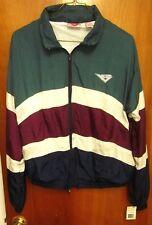 PONY International vtg jacket NWT lrg nylon windbreaker 1980s logo color blend