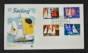 FDC, 1975 SAILING, ROYAL THAMES YACHT CLUB commemorative handstamp, Cat £15.