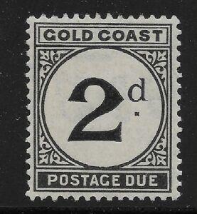 Gold Coast Scott #J3, Single 1923 FVF MH