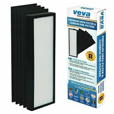 New listing Veva Premium True Hepa Size B Filter with 4 Activated Carbon Pre-Filters Gg4825