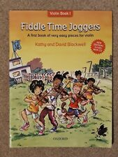 More details for fiddle time joggers includes cd: a first book of very easy pieces for violin