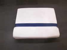 2005 Glastron GS 219 Boat Rear Seat Starboard Side Cushion Blue White