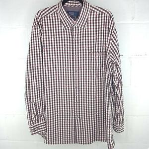 Nat Nast American Fit Casual Button Down Shirt Men Size XL