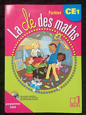 La Cle Des Maths Ce1 ; Fichier - Horoks ; Mariacher