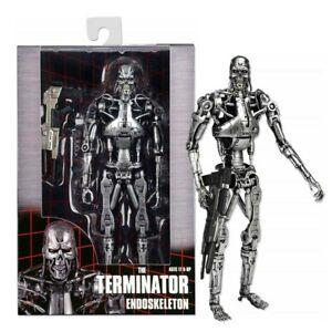 "NECA Terminator T800 ENDOSKELETON Action Figure 7"" Arnold Schwarzenegger Model."