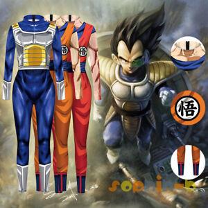 Dragon ball Z GT KAI Dragonball Goku Vegeta Cosplay Costume Halloween