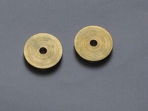 Seilrollen Messing von 14 ,18 oder 20  mm  Durchmesser für 3 mm Seil 1 Stück