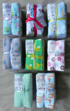 Flannel Fat Quarter Bundle (5 Pcs), Baby Nursery Theme, 18