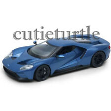 Welly 2017 Ford GT 1:24 Diecast Model Car 24082-4D Blue