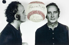 RONNIE BIGGS THE GREAT TRAIN ROBBERY RARE ONE OF A KIND SIGNED BASEBALL WITH COA