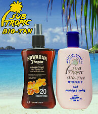 Hawaiian Tropic Protective Dry Spray Oil Spf20 Medium 200ml