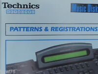 1000 Styles composer Technics SX-KN KN2000 3000 KN5000 Animation The Dansant ***