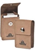 Woodland® Leder Zigarettenhülle Zigarettenetui Zigarettenbox in Braun