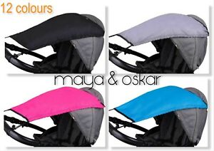 Universal Pushchair Pram CANOPY Sun Shade Rain Protection Umbrella Cover