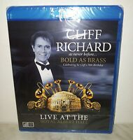 BLURAY CLIFF RICHARD - BOLD AS BRASS - NUOVO  NEW