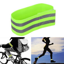Bike Bicycle Reflective Safety Pant Band Leg/Arm Strap Cycling Reflective Tape