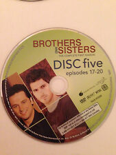 Brothers And Sisters - Season 1- Disc 5 ( DVD) DVD Disc Only - Replacement Disc