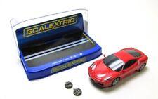 Scalextric c2822 Ferrari f430 Red Voiture de sport slotcars 1:32 - Neuf dans sa boîte
