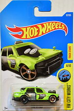 HOT WHEELS 2017 HW CITY WORKS TIME ATTAXI GREEN #4/10