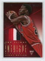 2012-13 Jimmy Butler 03/10 Patch Panini Intrigue Top Flight