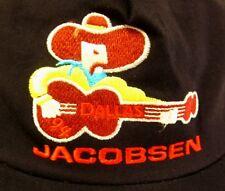 JACOBSEN baseball hat Dallas country cowboy 1994 western snapback guitar cap