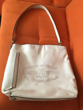 Louis Vuitton Articles de Voyage Malletier White/Cream Tote Shoulder Handbag