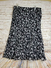 NWT Chaps by Ralph Lauren Size XL Peasant Floral Skirt Boho Skirt MSRP $69.50