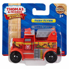 FIERY FLYNN Thomas Tank Engine Wooden Railway NEW IN BOX Fire Truck