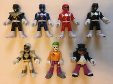 Lot of 7 IMAGINEXT DC Super Friends Power Rangers Legends WHITE RANGER, Magezord