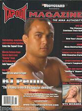 Tapout MMA magazine BJ Penn Ray Elbe Jiu Jitsu training Ute Werner Techniques
