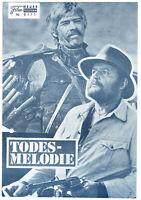 Western Filmprogramm WFP Nr 6111 TODESMELODIE Rod Steiger James Coburn  4 Seiten