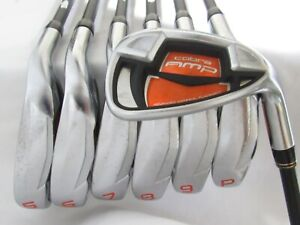 Used RH Cobra Amp Iron Set 5-P,G Senior Flex Graphite Shafts