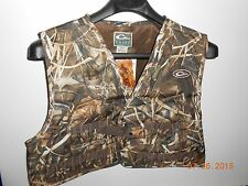 Drake Waterfowl Duck Realtree MAX 4 Camo 900D Hunting Wading Vest NWT Decoys